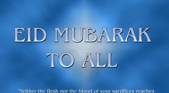 NACSI: Wish you Eid  Mubaarak